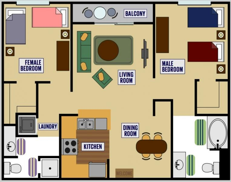 Traditional OSHP Apartment Unit