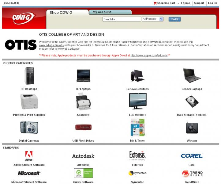 Faculty discounts for non-Apple brand hardware and software