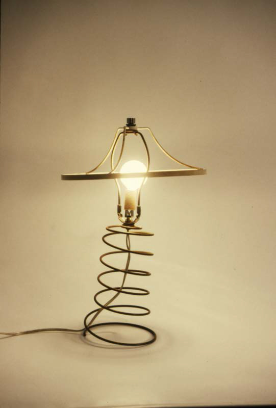 Hand-made lamp by Annetta Kapon