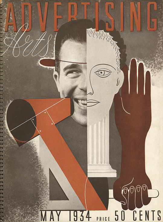 Advertising Arts May 1934 cover