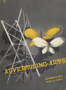 Advertising Arts September 1934 cover