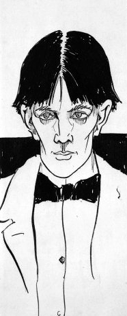 Beardsley - Self-Portrait