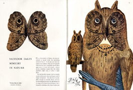 Flair Annual 1953 dali spread