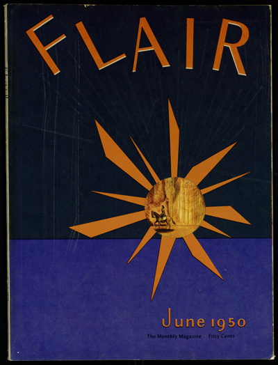 Flair, June 1950 cover