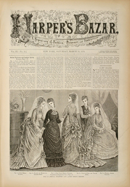 Harper's Bazaar, March 25, 1876