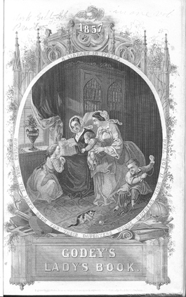 Godey's Lady's Journal, January 1857