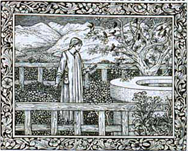 Kelmscott Chaucer - Prologue illustration