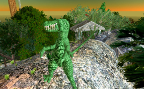 Dinosaur in Second Life